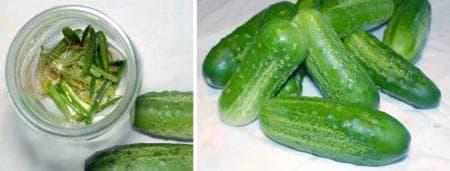 пикантни кисели краставички с люти чушки