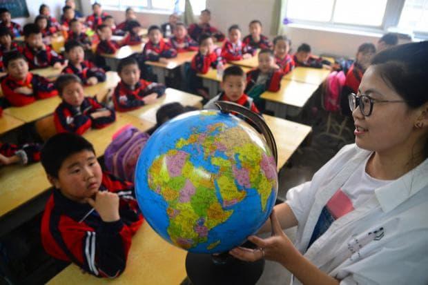 Китайска класна стая
