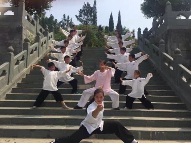 Кунг фу ученици
