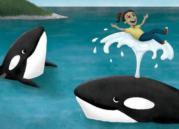 Два кита и дете