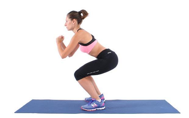 упражнение за крака - клек