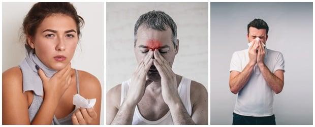 Кога (при кои заболявания) се прилага лечение с парна инхалация?