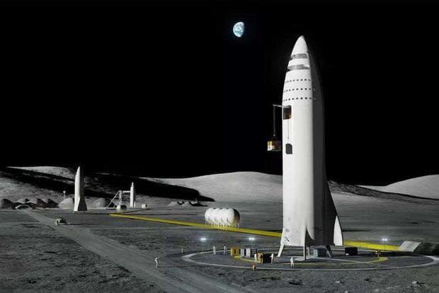 Лунната база Алфа