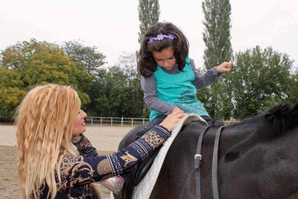 Конят и детето