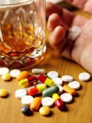 Консумация на лекарства с алкохол