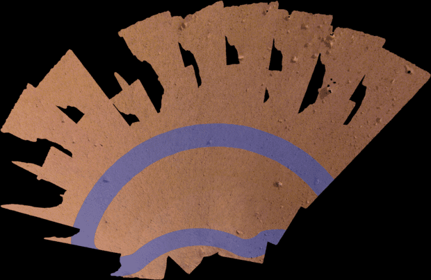 селфи на Марс