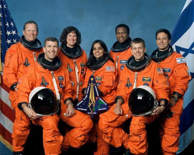 Екипажът на Колумбия