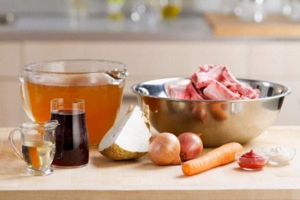 Костен бульон продукти