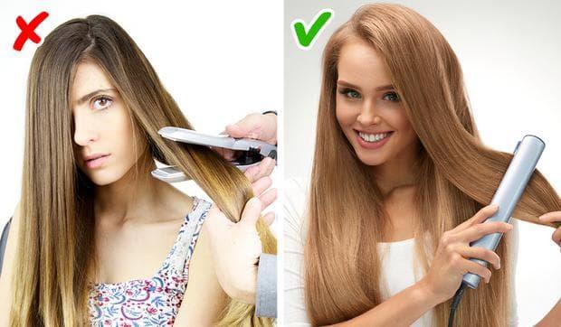 изправяне на коса