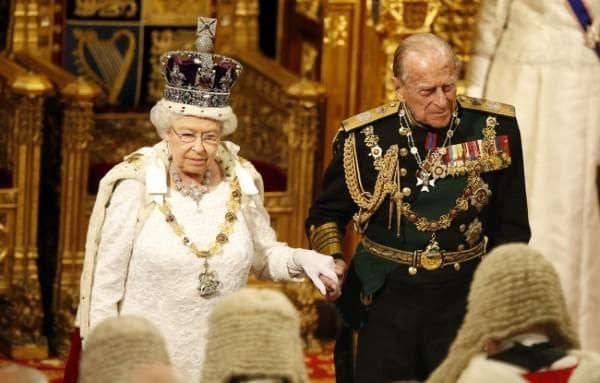 Кралица Елизабет II и крал Филип
