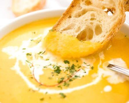 крем супа с тиква и моркови
