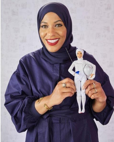 Барби с хиджаб