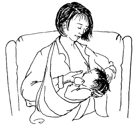 Кърмене в слинг