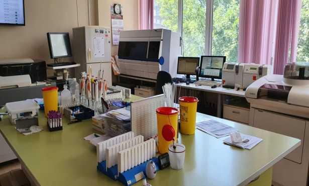 Лабораторията за клинични анализи, УМБАЛ Св.Иван Рилски