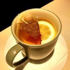 Чай от лайка с мед и лимон
