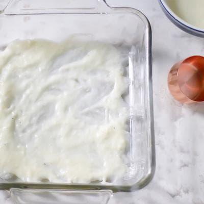 лазаня с млечен сос, спанак и сирене