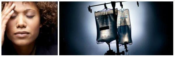 Лечение на дехидратация (рехидратация) - необходимост от интравенозно приложение на водни разтвори