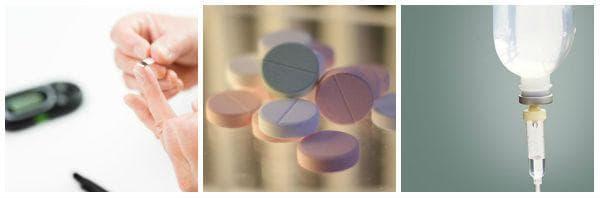 Лечение на хипогликемия с глюкоза - таблетки или венозна инфузия