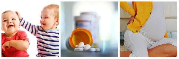 Лечение при пиелонефрит при деца и бременни (по време на бременност)