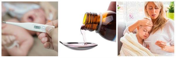 Лекарства и методи за лечение на висока температура при деца