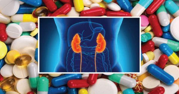 Лекарства, увреждащи бъбреците: аналгетици (аналгин, аспирин), антибиотици (гентамицин)