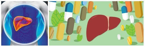 Лекарства, увреждащи черния дроб: парацетамол, ибупрофен, аспирин, антибиотици