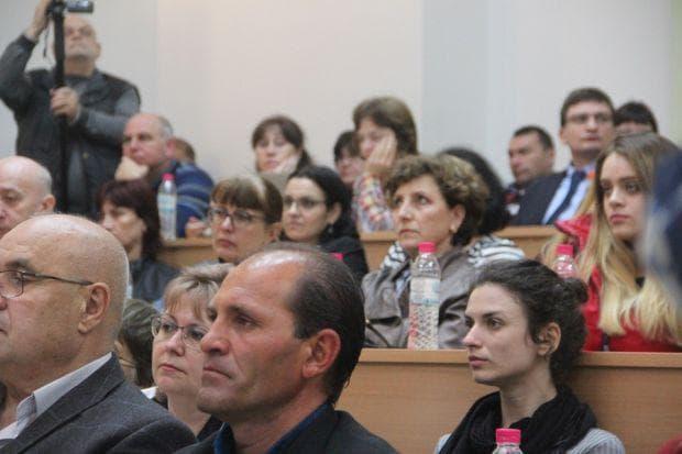 лекция за дигитализацията в Университета в Русе