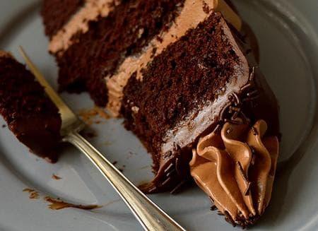 торта с лешников вкус, шоколад и еспресо