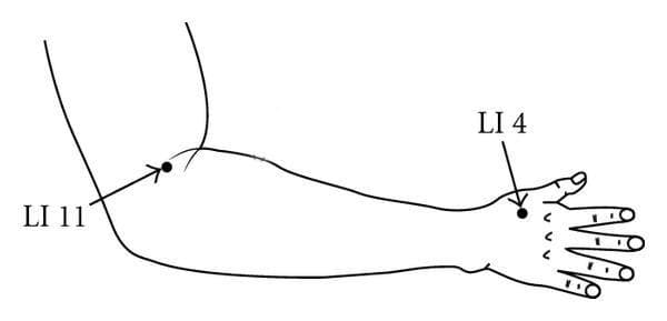 точка LI11