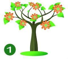 дерево №1