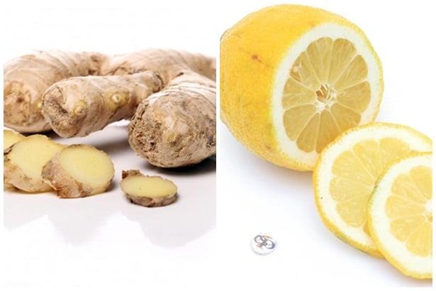 Джинджифил и лимон