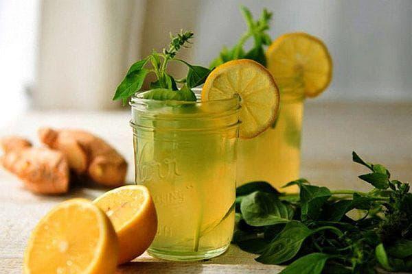 лимонада с джинджифил