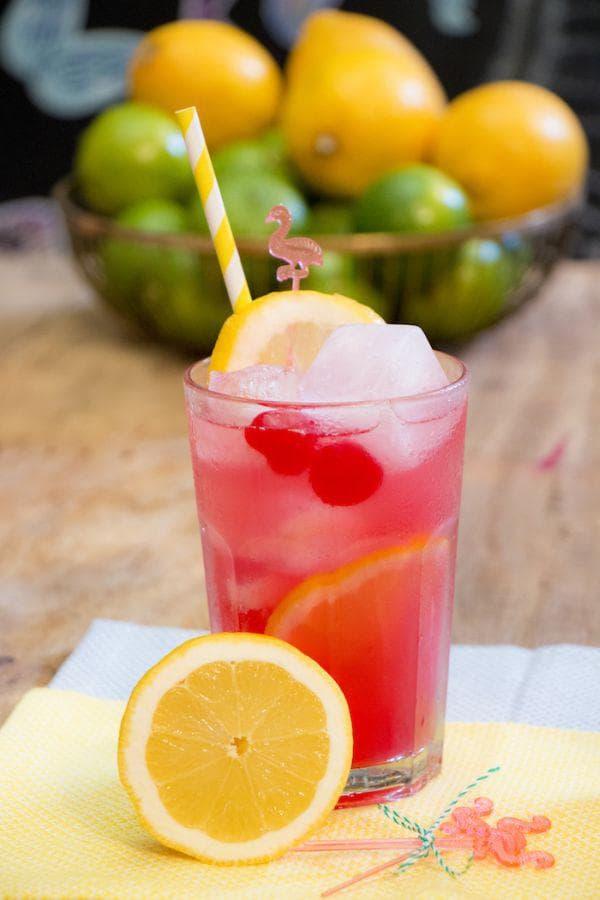 Лимонада от мента и хибискус