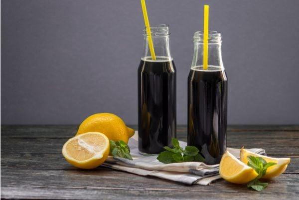 лимонада с активен въглен