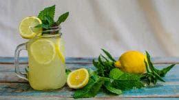 лимонада с мента и маточина