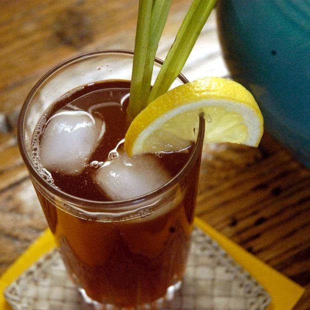 Студен чай лимонена трева