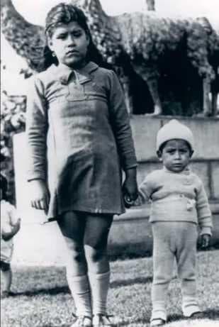 Лина Медина със сина си