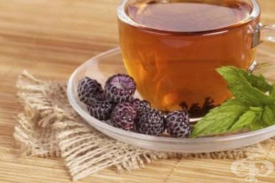 Чай листа и плод къпини