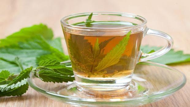 Листа от коприва чай