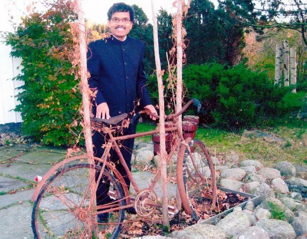 Маханандия с колело