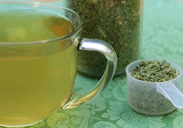 Чай от люцерна