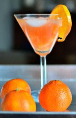 коктейл със сок от мандарина