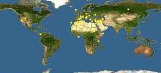 карта червена хвойна