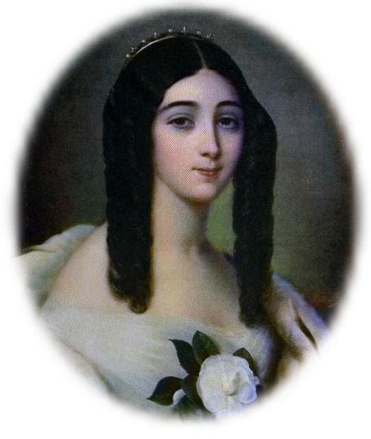 портрет на Мари Дюплеси