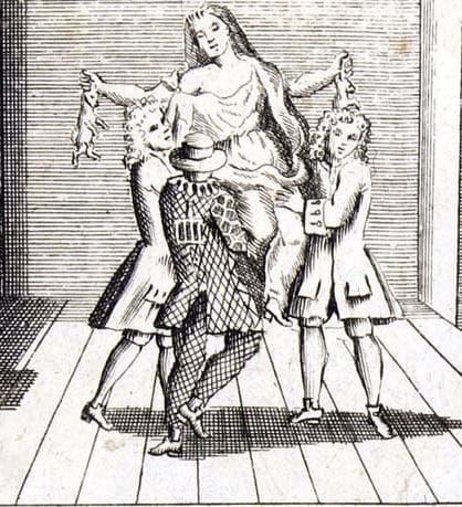 Мери Тофт, която ражда мъртви зайци, картина