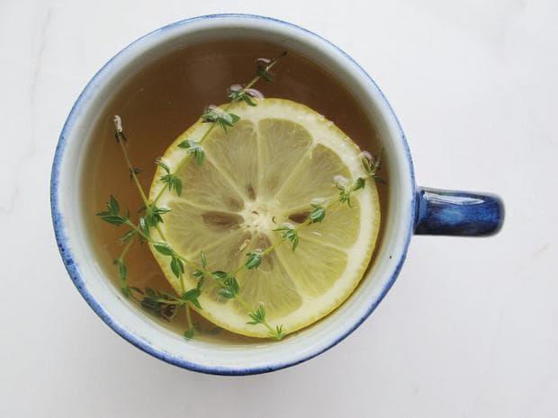 чай мащерка с лимон