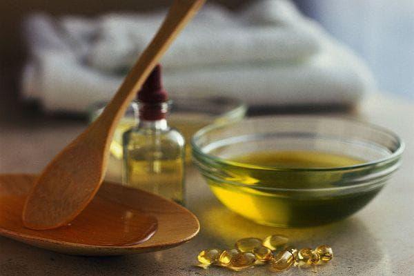 коняк, репей и витамин А