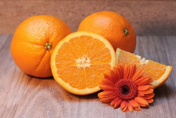 маска за лице с портокал