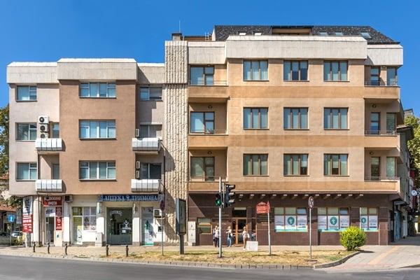 МБАЛ Тримонциум - Пловдив - сграда