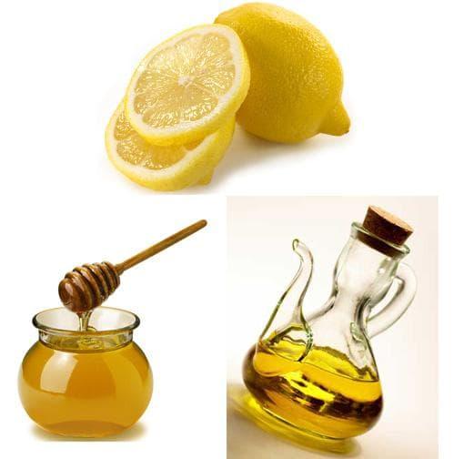 мед, лимон и зехтин